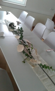 noble Tischdekoration